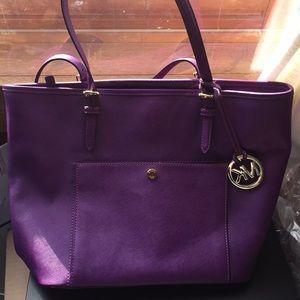 Michael Kors Purple Tote